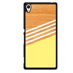 Wood Color TATUM-12038 Sony Phonecase Cover For Xperia Z1, Xperia Z2, Xperia Z3, Xperia Z4, Xperia Z5