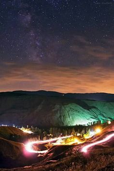 Milky Way Over Alamut Valley in Alborz Mountains - Amir H. Abolfath of The World at Night took this photo of the Milky Way over Alamut Valley in the Alborz Mountains of Iran in August Posted Jan. Beautiful World, Beautiful Places, Night Sky Photos, Persian Culture, Space Photos, Amazing Spaces, Photos Of The Week, Milky Way, Places Around The World