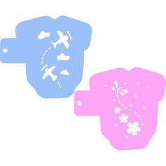 Baby Onesie Cookie Stencils