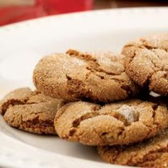 Yummy Molasses Crackles Recipe - lighter ginger molasses cookies