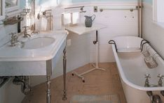 Master Bathroom at the Codman Estate in Lincoln, Mass.