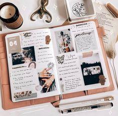 Album Journal, Planner Bullet Journal, Bullet Journal Notebook, Bullet Journal Spread, Scrapbook Journal, Bullet Journal Ideas Pages, Photo Journal, Memory Journal, Journal Diary