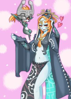 Both forms Midna's fanart <3<3