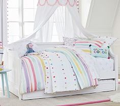 Ava Regency Kids Daybed Pottery Barn Kids Hampton Daybed Trundle From Pbteen Furniture . Kids Daybed, Carriage Bed, Mattress Sets, Big Girl Rooms, Kids Rooms, Room Kids, Convertible Crib, Girls Bedroom, Bedroom Ideas