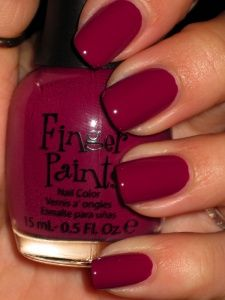 Raspberry Tafetta: check out some wonderful nail polish colours for fair skin chosen exclusively for you.