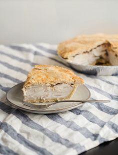Buko Pie (Filipino Coconut Pie) II - Obsessive Cooking Disorder Buko Pie, Pie Tin, Filipino Desserts, Egg Wash, My Dessert, Cream And Sugar, Us Foods, Pie Recipes, Food Photo