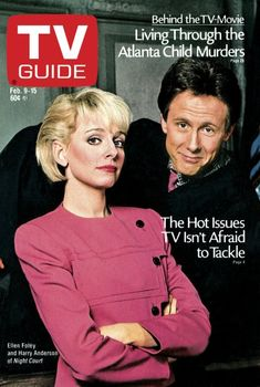 TV Guide February 9, 1985 - Ellen Foley and Harry Anderson of Night Court