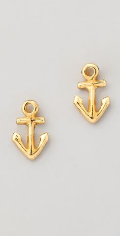 anchored earrings