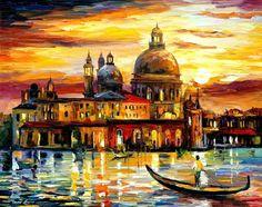 Thomas Kinkade Colors of Venice | Los pintura al óleo de Venecia se venden ahora a precios rebajados ...