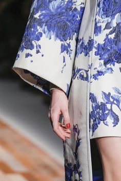 valentino blue and white coat - Google Search