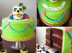 The Dia de los Bebes Cake