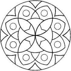 Mandala disegno da colorare gratis 7