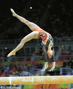 体操女子個人総合で寺本明日香選手が8位入賞。日本勢では1964年東京五輪以来の入賞です。(達)#Rio2016 #リオ五輪 #体操 #寺本明日香