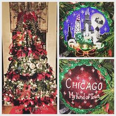 It's beginning to look a lot like Christmas in Chitown! My tree with my new Chicago ornament!  by mbryan1012