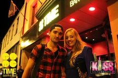 Tom Parker & Kesley in the club Time + Venue Bar in Cookstown, Northern Ireland