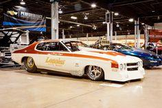 1970 Cream/Orange Chevrolet Chevelle SS picture, mods, upgrades