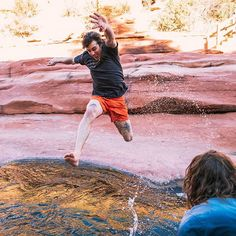 We're not saying a fresh t-shirt or two will make you able to leap rivers like @markmcmorris, but it certainly can't hurt. #DurableGoods