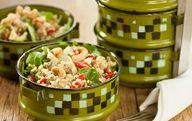Lentil and Quinoa Salad with Cashews #vegan #recipes #lunch