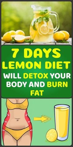 Lemon really never stops surprising us. Its health capabilites to help the human body are innumerous. Read how to reduce body fat and detox the whole body with this new 7 day lemon diet. Fat Burning Diet, Fat Burning Drinks, Lemon Health Benefits, Lemon Diet, Detoxify Your Body, Lose Weight, Weight Loss, Lose Fat, Juicing For Health