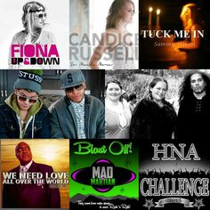 Starting the year off with the HNA Challenge   HNA The Book Featuring the contestants from week one of the #HNAChallenge:  Fiona Miss 2.1  Faire D'ophelia  Candice Russell  Sammy Hakim  Pastor R. H. Hall  A grade and  Mad the martian