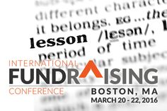 If you had the opportunity to attend the AFP International Conference in Boston this week, I'm sure you learned a lot. I know I did. Here are a few of my favorite takeaways. Some are from education…