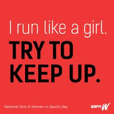 A library of inspirational art to help you celebrate National Girls And Women In Sports Day. A library of inspirational art to help you celebrate National Girls And Women In Sports Day. Famous Basketball Quotes, Funny Sports Quotes, Soccer Quotes, Sport Quotes, Sports Humor, Girl Quotes, Crush Quotes, Run Like A Girl, Girls Be Like