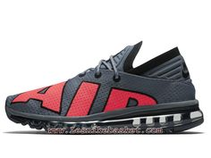 meet c4709 d33c1 Nike Air Max Flair Solar Red Cool Grey 942236 004 Chaussures Nike Running  Pour HOmme-1708253347