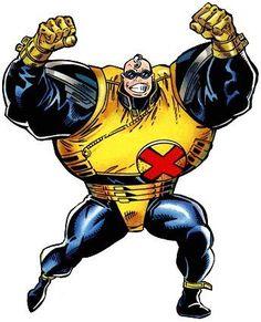 strong guy (x-factor) Marvel Comic Character, Marvel Characters, Fictional Characters, Marvel Heroes, Marvel Comics, Comic Superheroes, Strong Guy, Ultimate Marvel, Comic Books Art