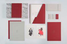 http://www.adriennebornstein.com identité visuelle 4BI & Associés Marquage à chaud, hot foil