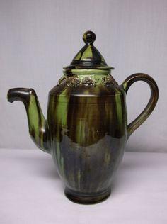 Vintage Mexican Majolica Art Pottery Teapot Tea Pot   eBay