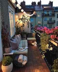 "24.6k Likes, 153 Comments - Interior & More (@myinterior) on Instagram: ""Balcony goals Stockholm Sweden 🇸🇪 by @parvinsharifi"""