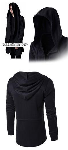 0ae93bbcfa Homens Moletom Com Capuz Com Vestido Preto Melhor Qualidade Hip Hop Hoodies  Moda Jaqueta de Mangas
