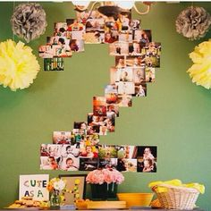 I was a little obsessed with the decorations for Harper's birthday party. Baby Birthday, 1st Birthday Parties, Birthday Numbers, Diy Party, Party Ideas, Birthday Decorations, Holidays And Events, First Birthdays, Party Time