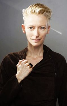 tilda swinton short hair - Google Search