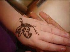 Butterfly Henna Mehndi Designs for Kids