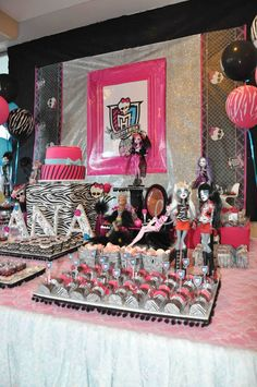 Monster High Boutique Festas