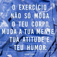 Todo dia precisamos fazer alguma atividade física. Saúde, coração e espírito trabalham juntos!  www.kaisan.com.br  #TeamKaisan #projetovidatoda #fitnesslifestyle #gymtime #academia #saúde