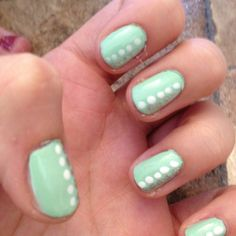 Finally got mint green nail polish!