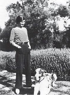 Coco Chanel - 1920's Paris  Coco was so fashion forward .