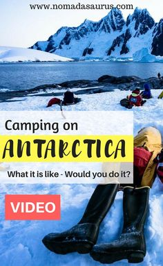 Check out our vlog on camping in Antarctica. It was AMAZING! Looking for a great adventure to add to your bucket list? Sleep under the stars on this incredible thing to do in Antarctica!