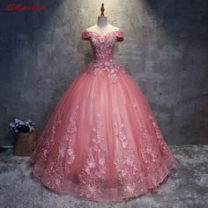 Lace Quinceanera Dresses Sweet 16 Dresses for 15 years Off Shoulder Masquerade Ball Gowns Prom Dresses Sale vestidos de 15 anos