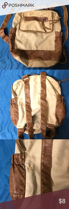 Mossimo Backpack Small henna stain in the back but overall really good quality Bags Backpacks