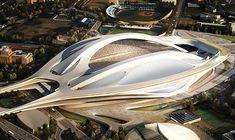 Zaha Hadid, National Stadium, Tokyo