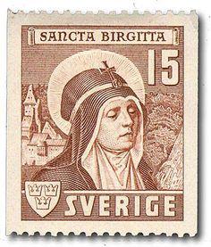 """Sweden 15ö """"Sancta Birgitta"""""""