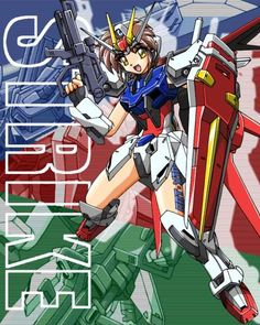Strike Gundam Girl Aile Strike by Zen904 on DeviantArt