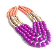Azalea Necklace now featured on Fab.