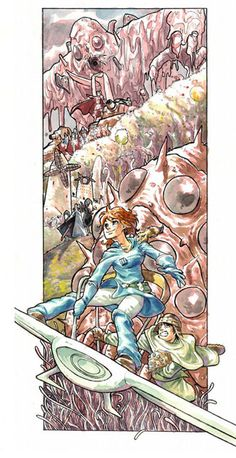 Nausicaa and the Valley of the Wind