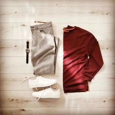 Casual outfit👌 DM📩 for advertisement Smart Casual Wear, Casual Wear For Men, Stylish Mens Outfits, Casual Outfits, Fashion Outfits, Stylish Clothes, Ootd Fashion, Men Fashion Show, Daily Fashion