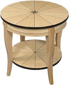 Caroline # Maple Lamp Table