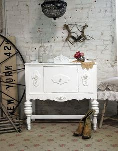 RESERVE SANDY  Painted Cottage Chic Shabby by paintedcottages, $275.00